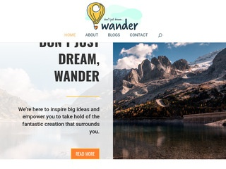 Don't Just Dream, Wander